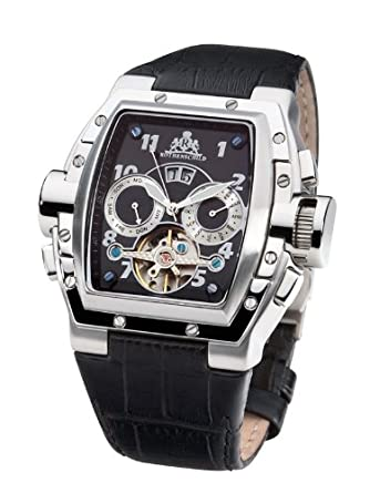 Rothenschild Herrenuhr Crusader Automatk RS-0812-LSG: Amazon.de: Uhren