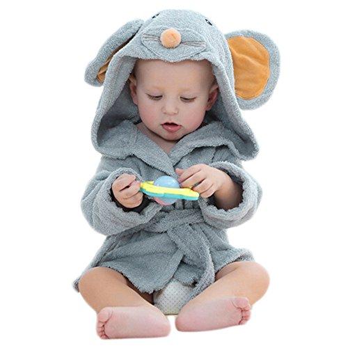 Durable Modelando MYQyiyi Albornoces con Capucha Formas de Animales de  Dibujos Animados para Bebé Niños 25534c812a3