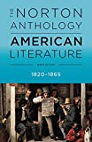 The Norton Anthology of American Literature 1820 – 1865: B