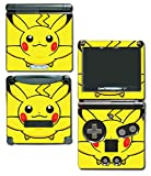 Pikachu Special Edition X Y Omega Ruby Alpha Sapphire Black and White Video Game Vinyl Decal Skin Sticker Cover for Nintendo GBA SP Gameboy Advance System