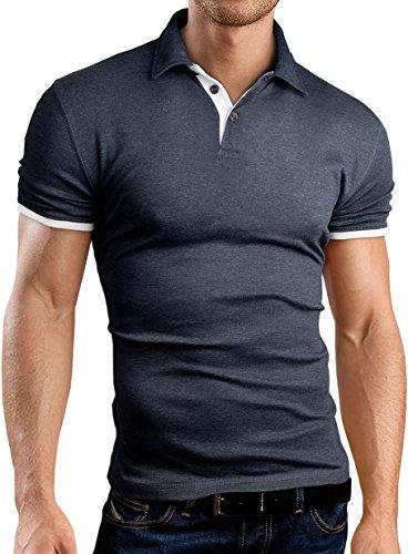 Grin&Bear Slim Fit Contrast Poloshirt Polo, GB160