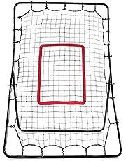 Wood.L Entrenamiento De Béisbol Red, Red De Entrenamiento De Béisbol Rebote Plegable Práctica Rebound Net Red De Práctica De Lanzamiento Telescópico Todos Los Ángulos