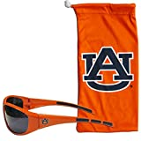 Siskiyou NCAA Auburn Tigers Adult Sunglass and Bag Set, Orange