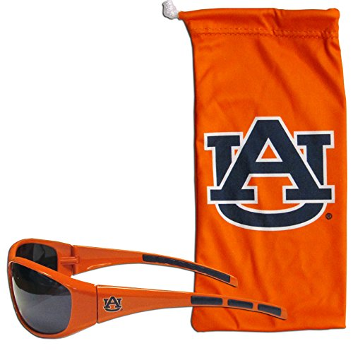 Auburn Tigers Sunglasses - Siskiyou NCAA Auburn Tigers Adult Sunglass and Bag Set, Orange