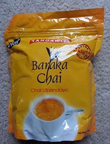 Pure Kenyan Baraka Tangawizi (Ginger) Chai Tea Leaves Powder- 500g