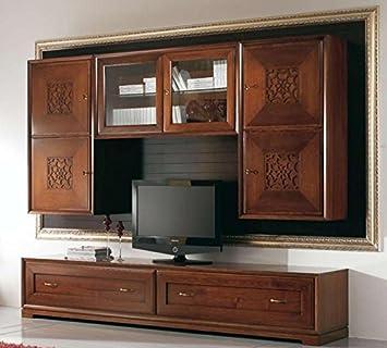 COM U2013 Wand Für Wohnzimmer, Täfelung Schwarz Vintage, Struktur Farbe Holz  Dunkel