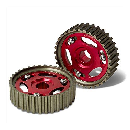 For Honda Civic/Del Sol/CR-V/Acura Integra B-Series Engine Cam Gear (Red) - B16 B17 B18 B20 DOHC