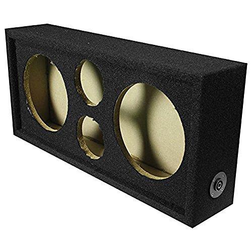 """Q Power Car Audio Subwoofer Enclosure Box Chuchero For 8"""" Mi"""