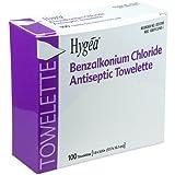 PDI D35185 BZK Antiseptic Towelettes, Case, 20 Boxes, 2000 Wipes,