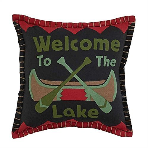 (Park Designs Welcome To The Lake Decorative Throw)