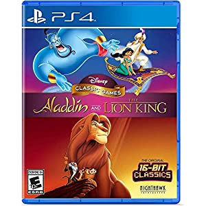Disney Classic Games: Aladdin and The Lion King – PlayStation 4