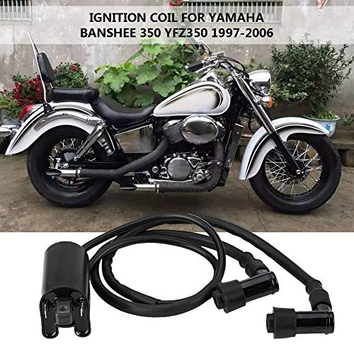 AjaxStore - Motorcycle Ignition Coil for Yamaha Banshee 350 YFZ350 ATV Quad 1997 1998 1999 2000 2001 2002 2003 2004 2005 2006