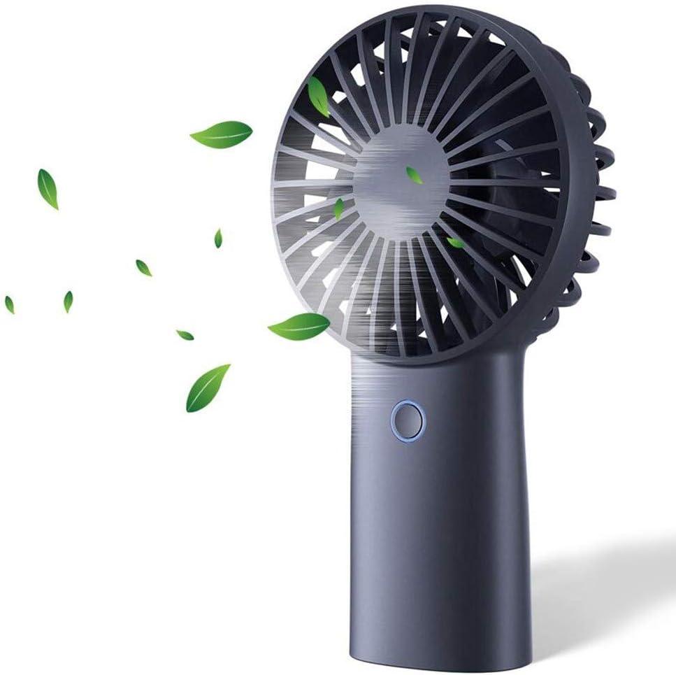 Outdoor Color : Green Home Mini Fan Small Foldable Charging USB Personal Pocket Fan Battery Powered Travel Fan Desktop Fan Office