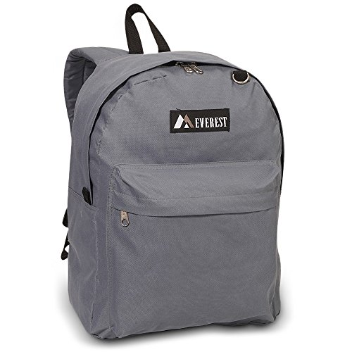 Classic Backpack Color: Dark Gray from EVEREST
