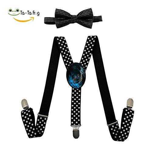 Coraline Costume For Kids (Coraline/The Secret Door Fashion Kids Boys Girls Suspender Unisex Elastic Adjustable Suspender Y-Back Suspenders)