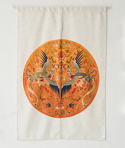 KARUILU home Japanese Noren Doorway Curtain Tapestry 33.5