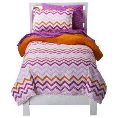 (Circo® Zig Zag Bed Set - Pink - 7 Piece -)