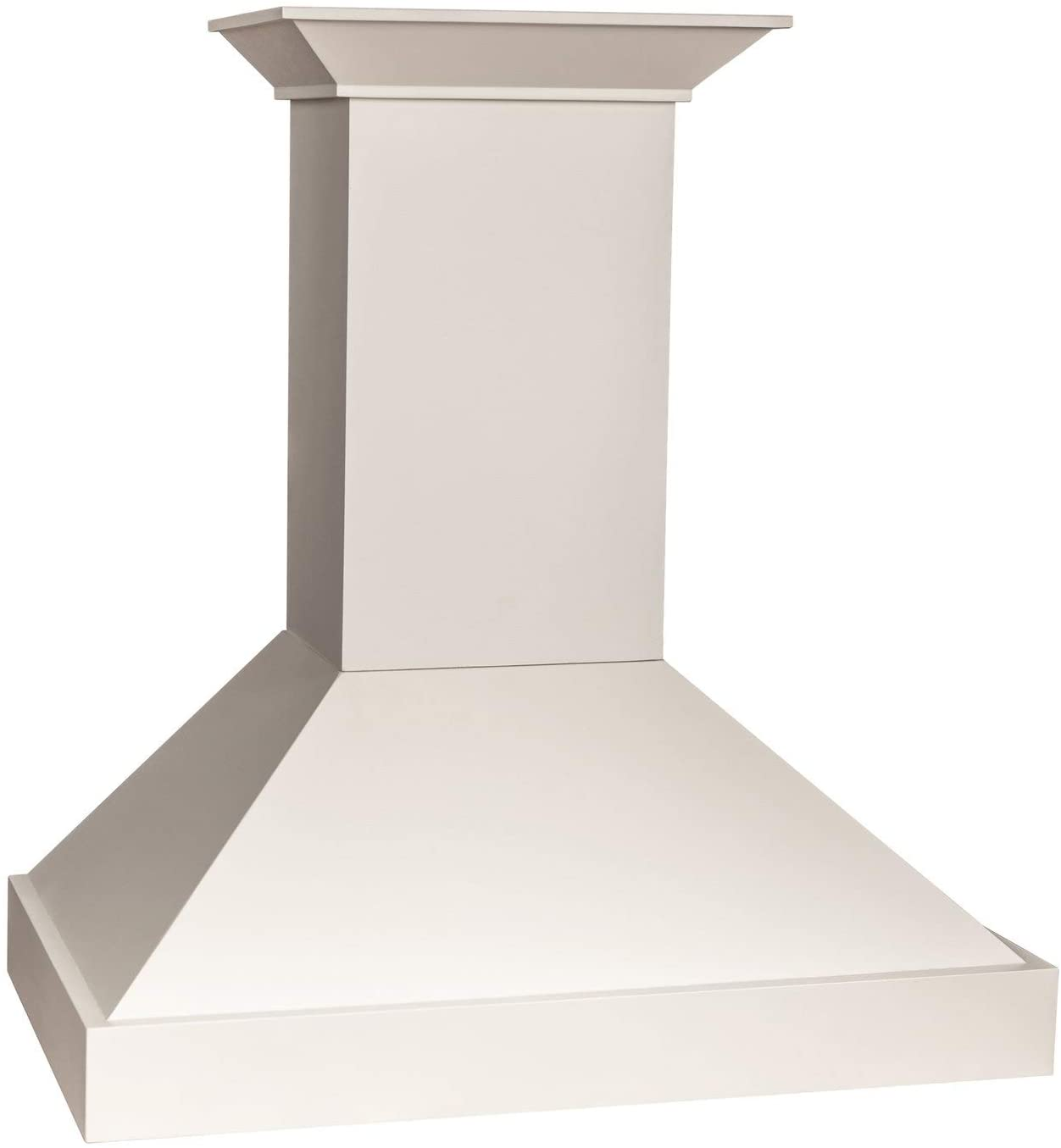 ZLINE 30 in. Wooden Wall Mount Range Hood in White - Includes Motor
