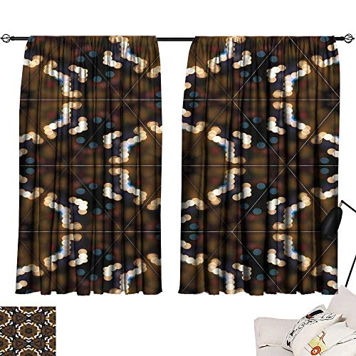 - Decorative Curtains for Living Room Abstract Colorful Yellow and Brown Light Wallpaper Texture backg 54