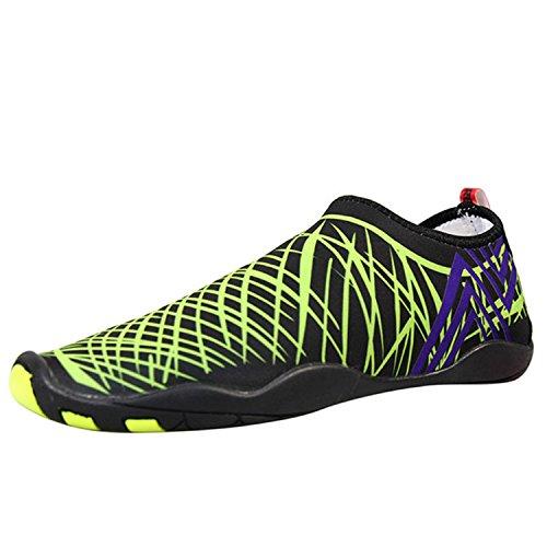 RENXINGLI Athletic-water-shoes Renxingli Men Women Water Shoes Quick Drying Outdoor... Beach Barefoot Aqua Shoes Outdoor... Drying B07CF4XHLV Shoes 5e1b37