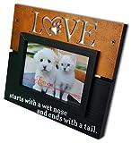 Spiretro 4 x 6 inch Memorial Pet Dog and Cat Wood