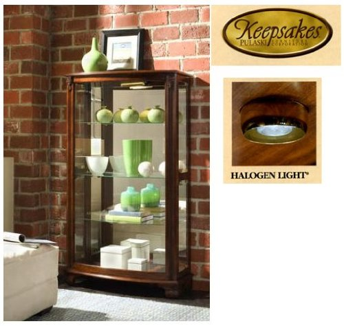 Superbe Amazon.com: Pulaski Mantel Curio, 33 By 15 By 59 Inch, Brown: Kitchen U0026  Dining