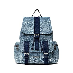 Desigual Tribeca Back_Galaxy Sac à dos pour femme Bleu marine