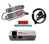 HDMI HD Video Game Entertainment System Classic Mini-TV Game Console Built-in 600 Games, 2pcs Controllers