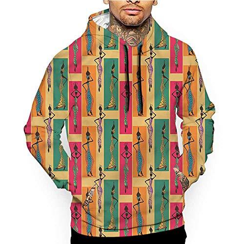 Hoodies Sweatshirt Pockets African,Cheetah Skin Pattern,Zip up Sweatshirts for Women
