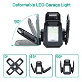 2 - Pack LED Garage Lights 80W - 6000K Garage