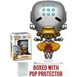 Funko Pop! Games: Overwatch - Zenyatta Vinyl Figure (Bundled with Pop Box Protector Case)