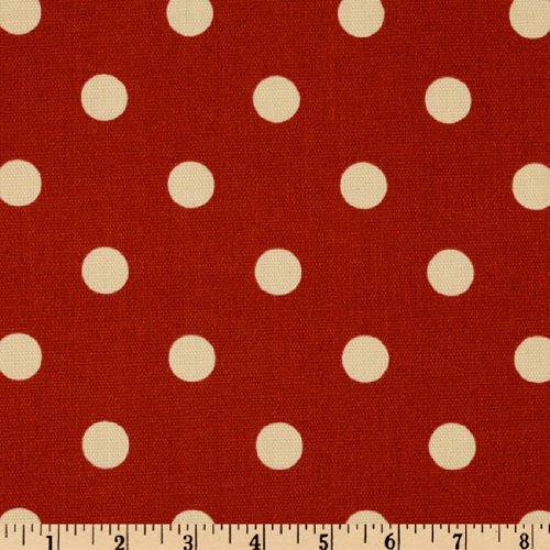 Premier Prints Indoor/Outdoor Polka Dot American Red