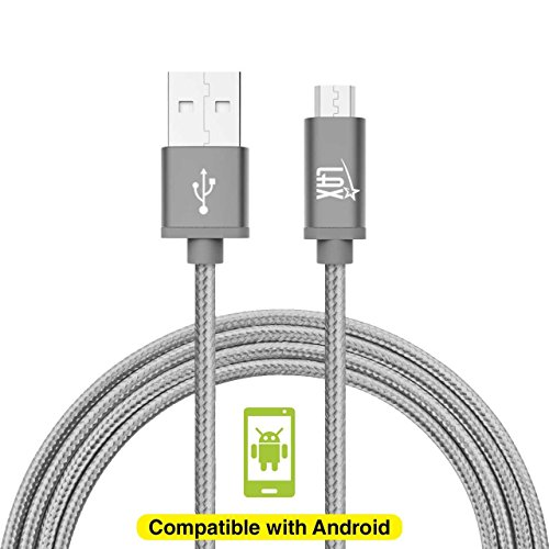 2 Pack Durable Braided Android Charger