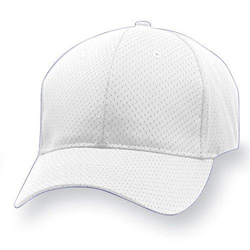 Augusta Canvas Tote - Augusta Sportswear Adult Sport Flex Athletic MESH Cap L/XL White