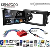 Volunteer Audio Kenwood DDX9904S Double Din Radio Install Kit with Apple CarPlay Android Auto Bluetooth Fits 2010-2012 Mazda CX-7