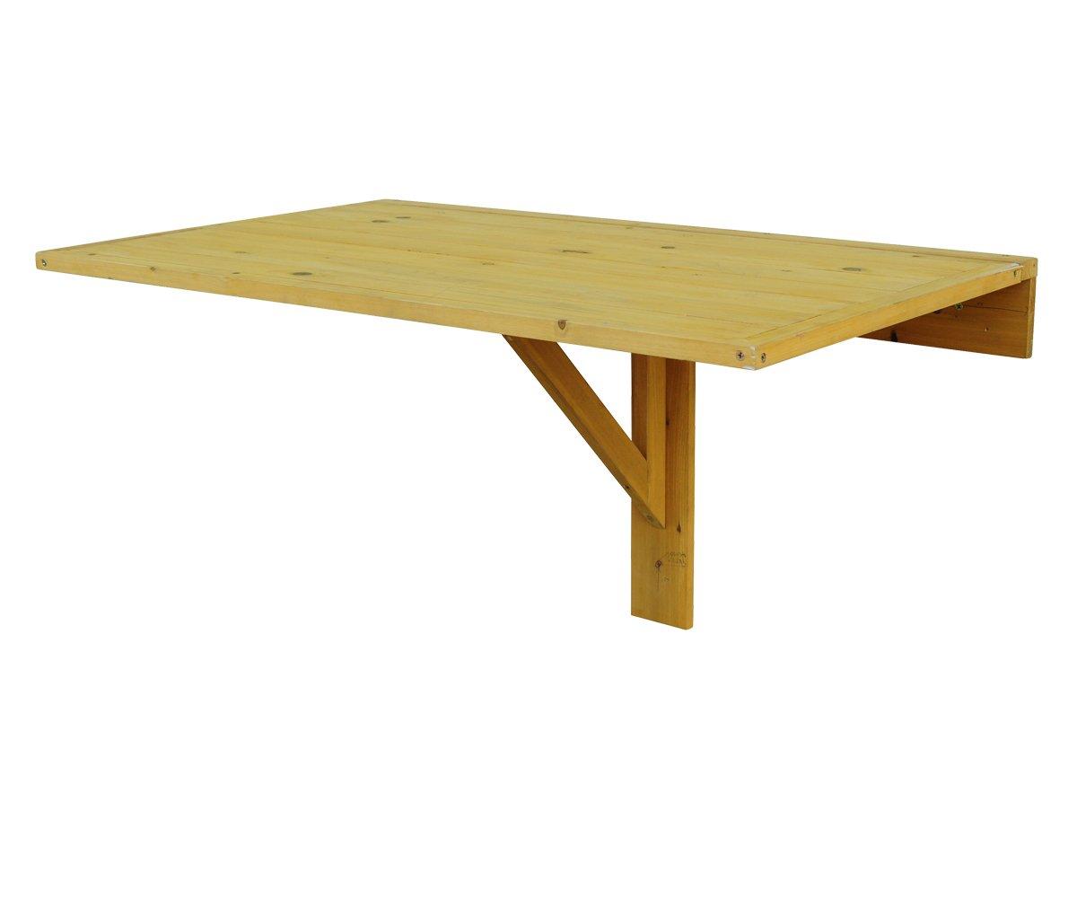 Amazon.com : Leisure Season DL6322 Wall Mounted Drop Leaf Table : Garden U0026  Outdoor