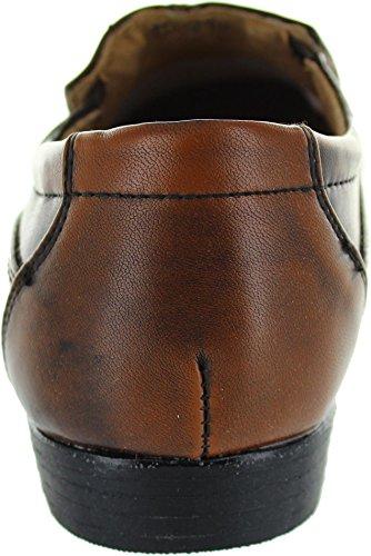 Unknown Nv095, Scarpe stringate uomo marrone Brown