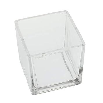 perfk Pequeño Acuario/Pecera Cuadrada Transparente Tanque de Vidrio Multifunción - L: Amazon.es: Productos para mascotas