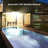 LITOM Solar Lights Outdoor, IP67 Waterproof Solar