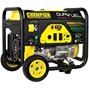 Champion Power Equipment 100231 5500W Dual Fuel RV Ready Portable Generator with Wheel Kit