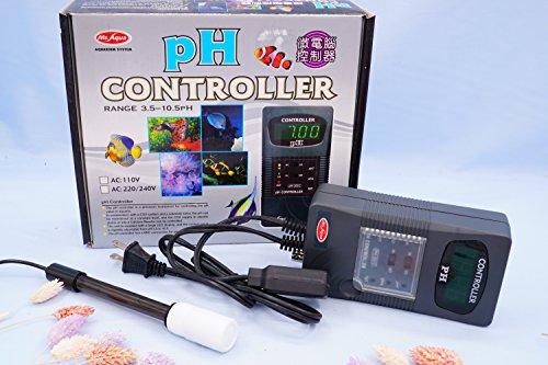 Mr.Aqua pH CONTROLLER Range 3.5-10.5 pH AC:110V For Aquarium Tank by Mr. Aqua
