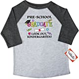 Inktastic Little Boys' Pre-School Graduate Look out, Kindergarten! Toddler T-Shirt
