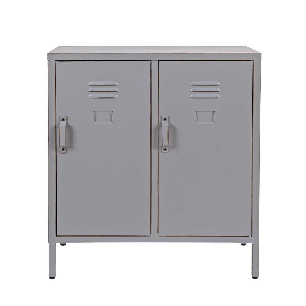 Spindschrank in Grau Metall Pharao24: Amazon.de: Küche & Haushalt