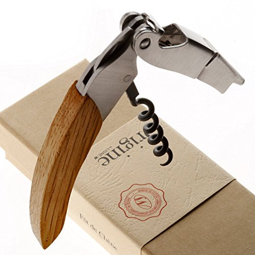 Wine Enthusiast Origine Reclaimed Corkscrew