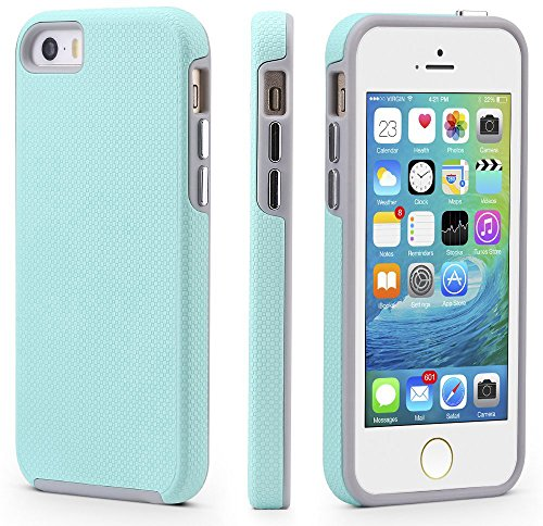 Silicone Case for iPhone 5/5S/SE (Purple) - 3