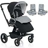 Inglesina - Quad Stroller with Car Seat Adapter - Vulcano