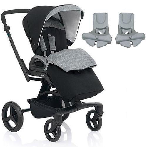 Inglesina - Quad Stroller with Car Seat Adapter - Vulcano