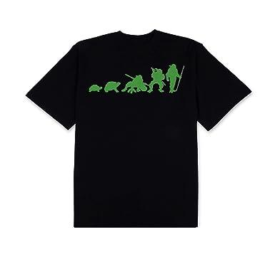 c21d4c74f Amazon.com: Teenage Mutant Ninja Turtles Ninja Evolution Mens Black ...