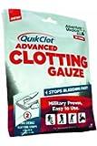 QuikClot Advanced Clotting Gauze, 3 Inch x 24 Inch, 0.085 Pound