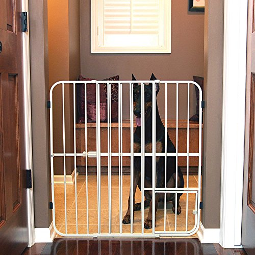 Carlson Big Tuffy Expandable Pet Gate in White by Carlson